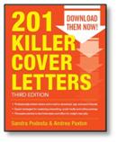 201 Killer Cover Letters by Sandra Podesta